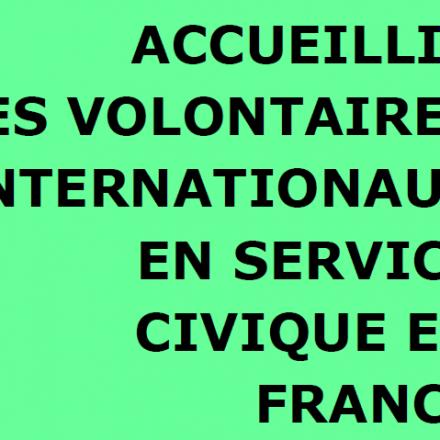 Guide d'accueil des Volontaires internationaux de France Volontaires