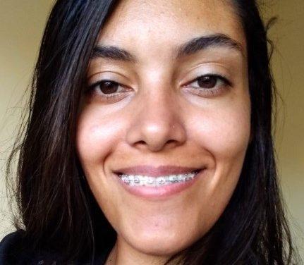 Ana-Luiza, volontaire brésilienne au LP Saint Joseph de Bucquoy