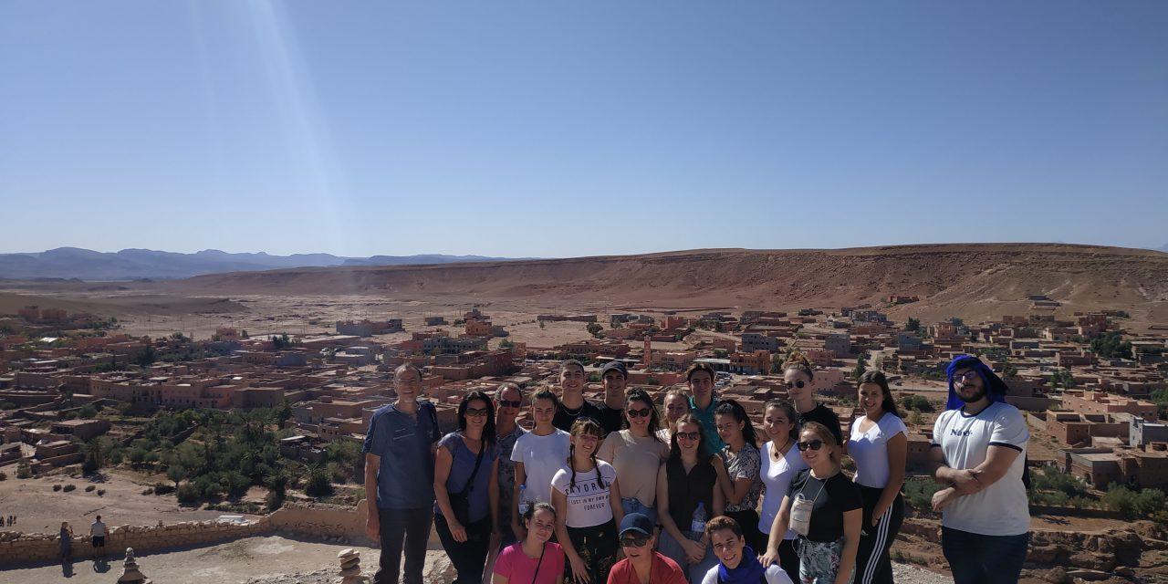 Les élèves de Pézenas à la rencontre de leurs partenaires marocains