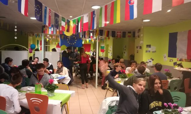 Erasmus Days in Costa de Beauregard School !
