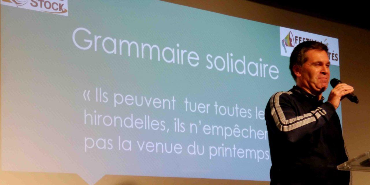 Festisol 2019 : « Grammaire solidaire : quand le je (jeu) devient nous ! » à EFAGRIR